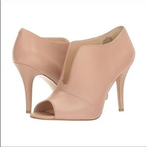 NEW Nine West leather Artissa open toe heels 8 M